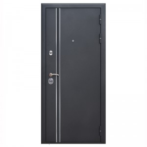 Входная дверь FeDoor Квадро Line Чёрный